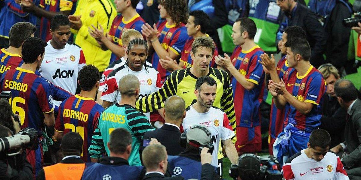 ¿Aroma a título? Los choques entre Barcelona y Manchester United en la Champions exhiben al campeón