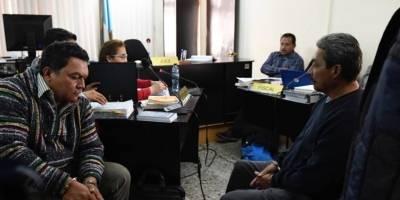 Minor Cadenas y Andrés Aguilar, guardias de la Usac señalados por homicidio.