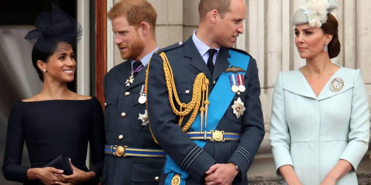 ¿Quiebre en la realeza británica? los duques de Cambridge y Sussex separan sus hogares... y oficinas