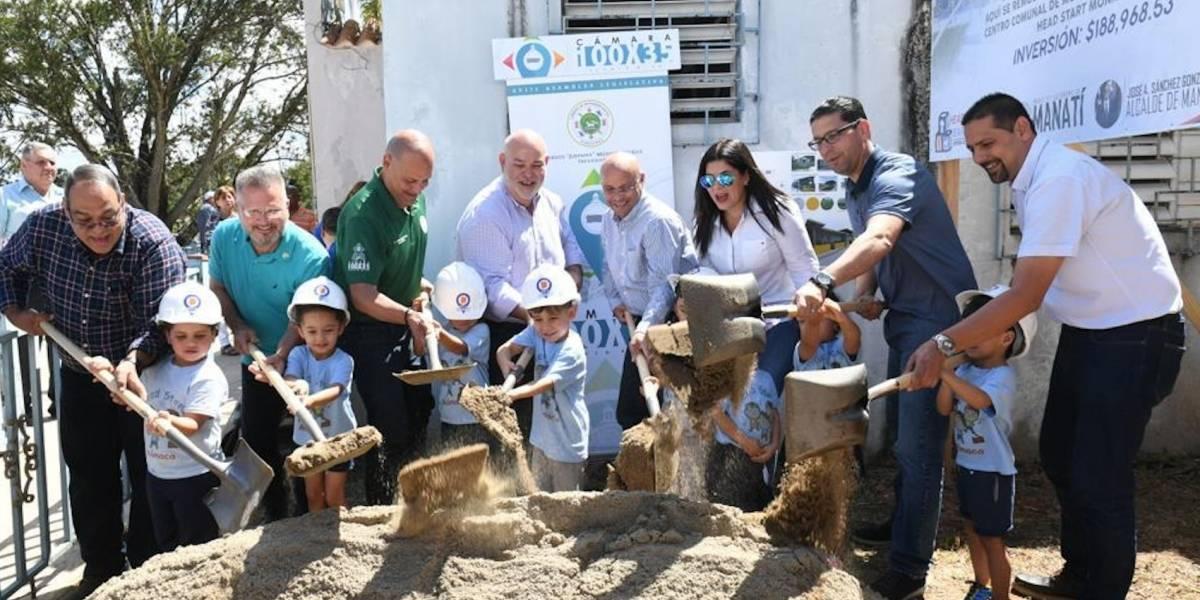 Colocan primera piedra de nuevo Centro Head Start en Manatí