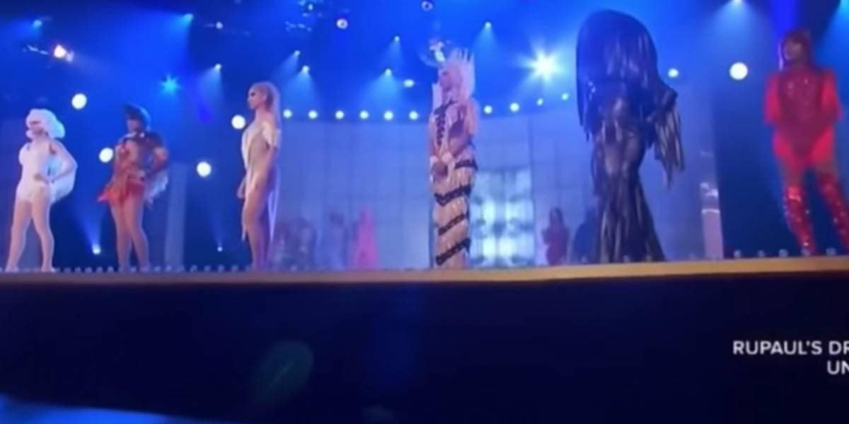 Seis 'drag queens' hacen 'lipsync' en RuPaul's Drag Race 11