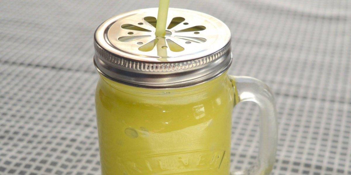 Vitamina de abacate com maçã é poderosa para emagrecer rápido e com saúde