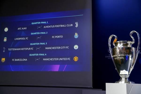 Cuartos de la Champions League: Horario, día y quién transmite los ...