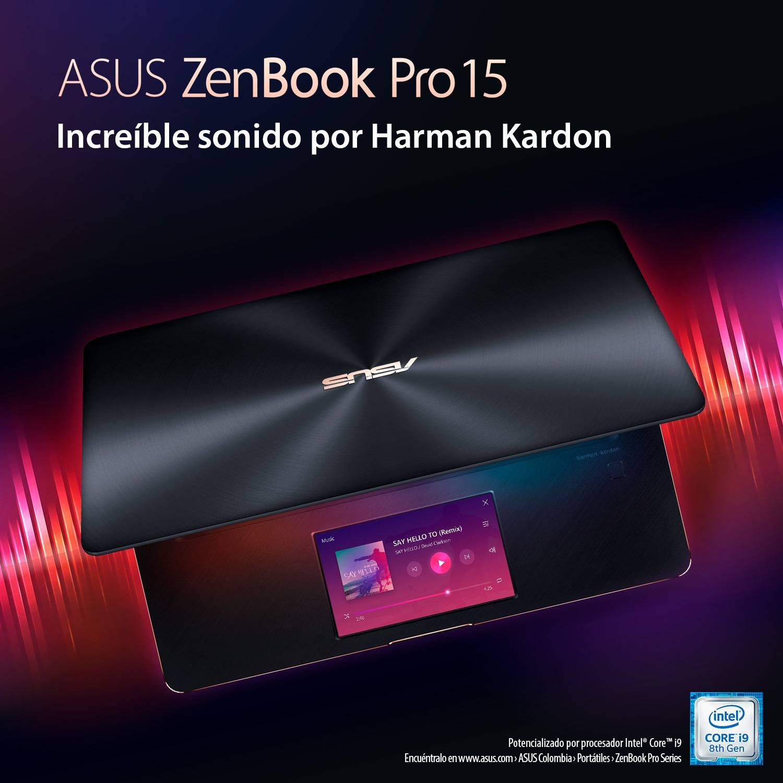 ¿Cómo funciona el screenpad del Asus ZenBook Pro 15? [FW Labs]