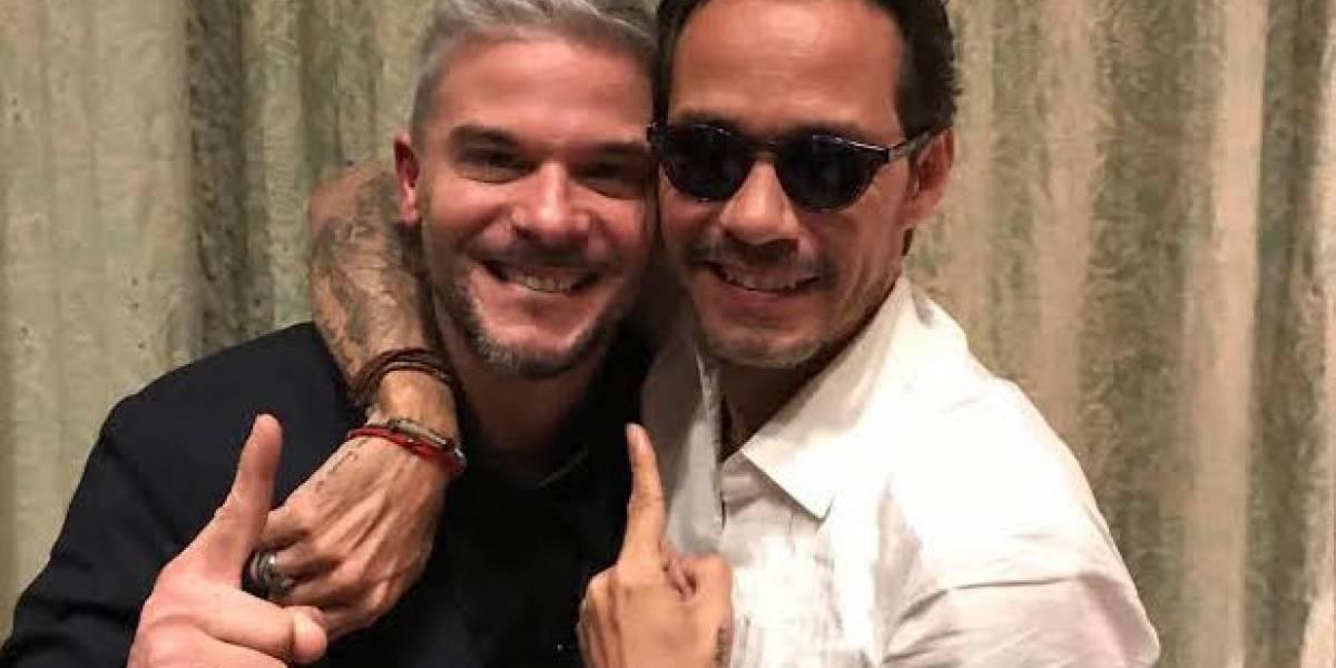 """Pedro Capó le canta """"Calma"""" a Marc Anthony"""