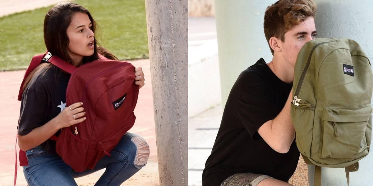 ArmorMe: las mochilas antibalas para salvar vidas en tiroteos estudiantiles