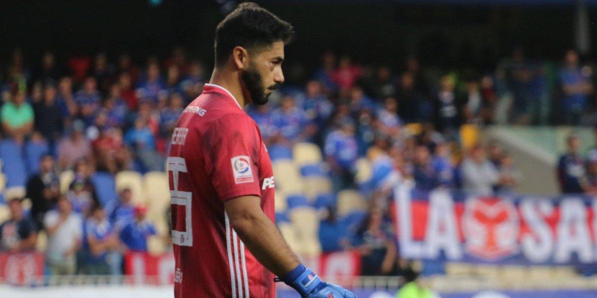 """Johnny Herrera asume la creciente crisis en la U: """"En la semana que pasó, nos equivocamos todos"""""""