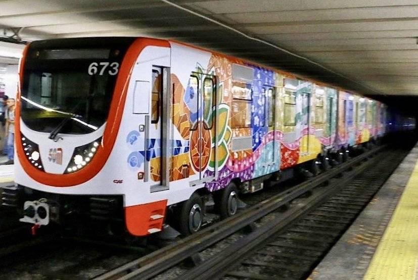 Los nuevos vagones del Metro
