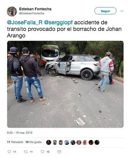 1. Camioneta Johan Arango