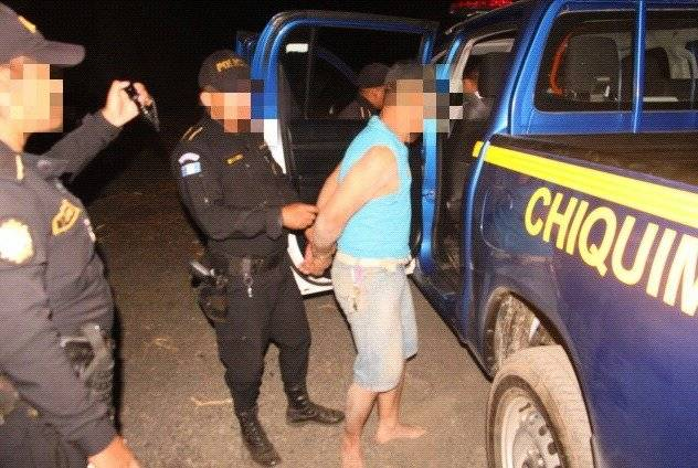 Derick Mauricio Miguel Lemus capturado