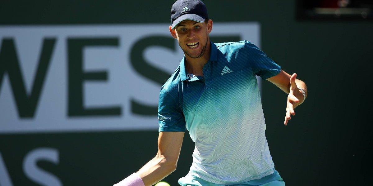 Ahora viene Federer: Dominic Thiem deja a Raonic en el camino y se mete en la final de Indian Wells