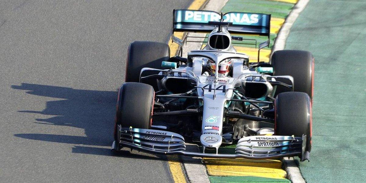 Hamilton da un golpe de autoridad en el Gran Premio de Australia