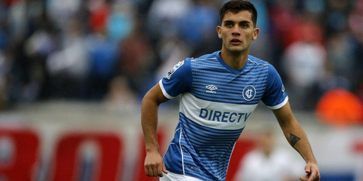 Alegría para la UC: Ignacio Saavedra dejó atrás su dura lesión y volvió a las canchas en la Sub 19