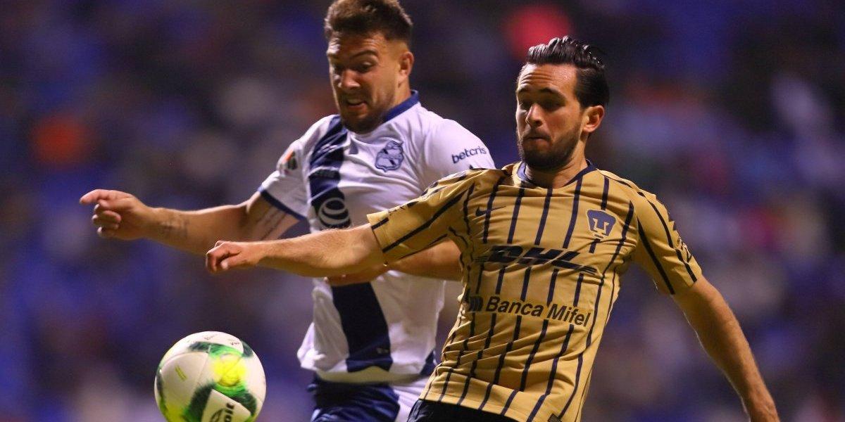 Pumas cae ante Puebla y liga cuatro juegos sin ganar