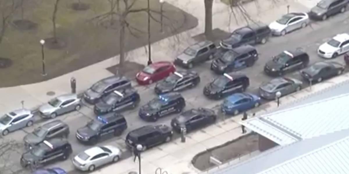 Amenaza de tirador activo en Universidad de Michigan resulta ser globos explotando