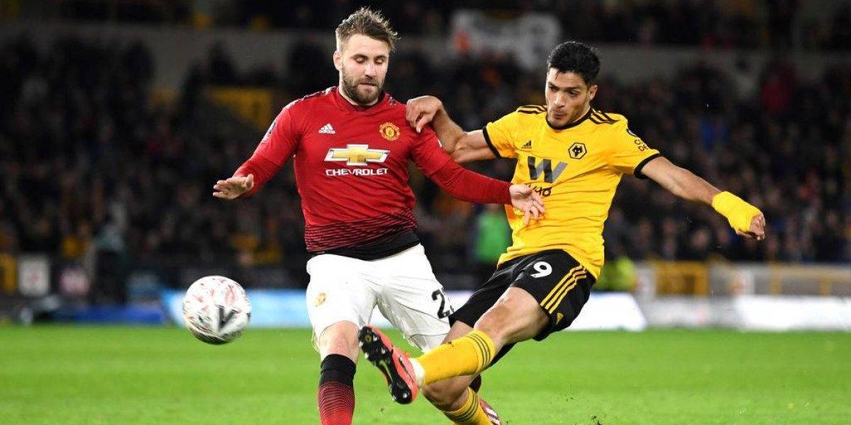 El gol de Raúl Jiménez vs Manchester United