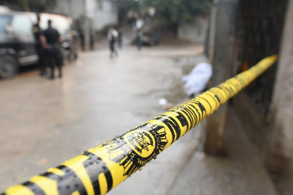 Un hecho de violencia ocurrió en una vivienda en Ciudad Quetzal, en San Juan Sacatepéquez, en donde asesinaron a tres personas, entre ellas una niña de 7 años. Foto: Omar Solís