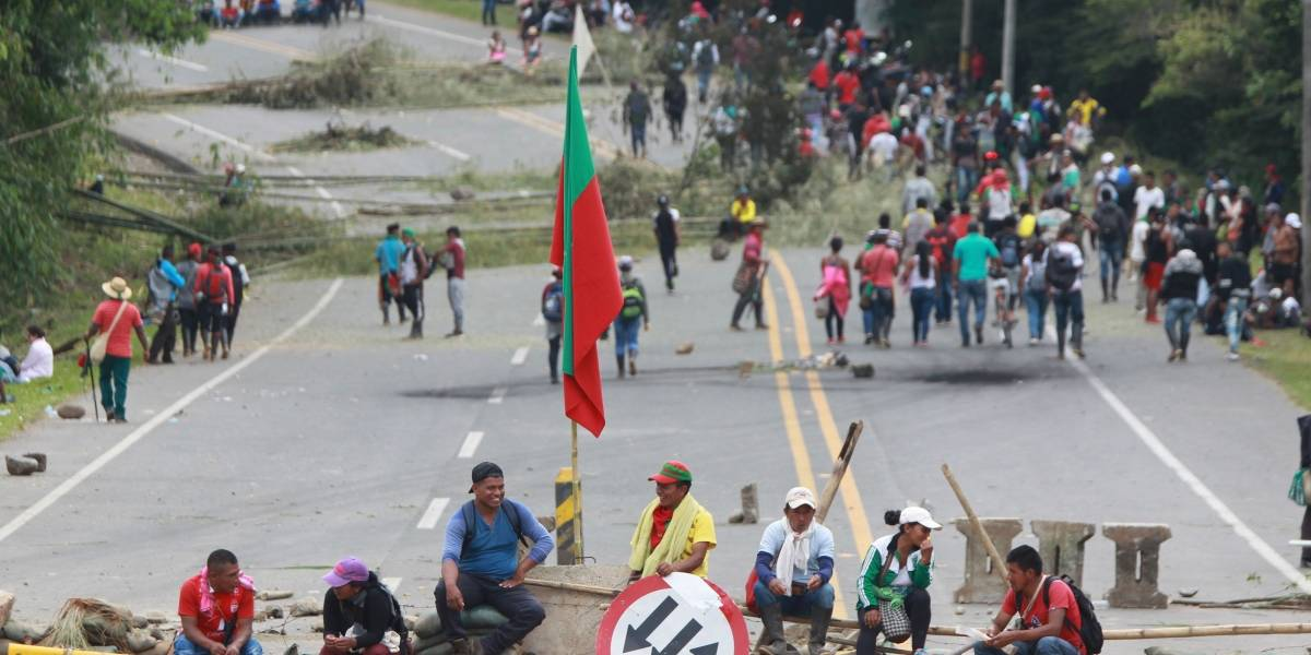 Investigan si disidencias de Farc están infiltradas en protestas indígenas