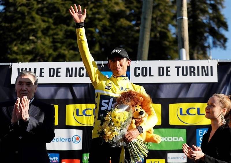 Egan Bernal campeón final de la París - Niza