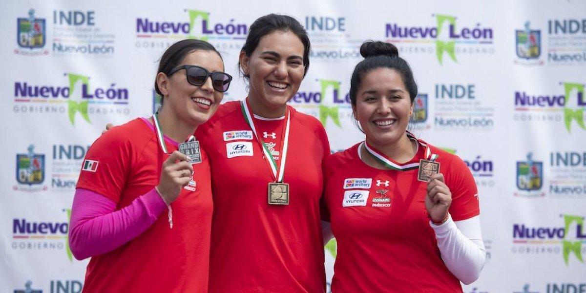 Alejandra Valencia y Brenda Merino ganan el Grand Prix Mexicano de Tiro con Arco