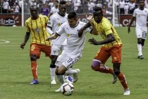 """Liga de Quito vs Aucas: Los Orientales se llevaron el """"Superclásico"""" en el Rodrigo Paz"""