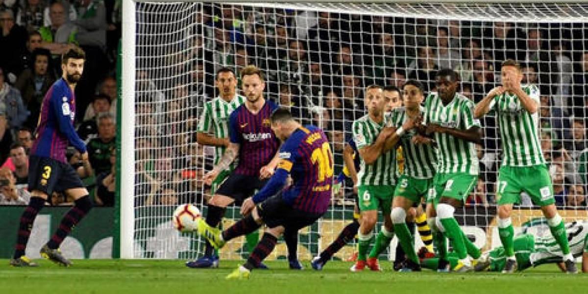 Barcelona se prueba la corona en España