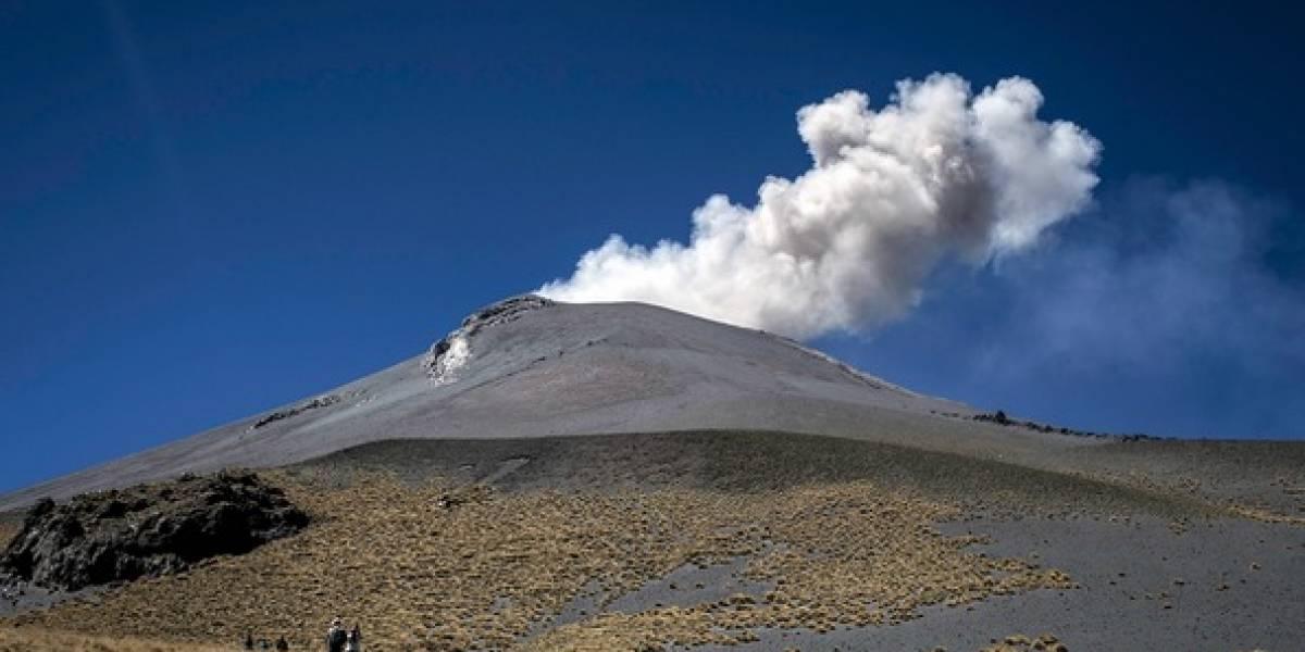 Popocatépetl emite 175 exhalaciones y dos explosiones en 24 horas