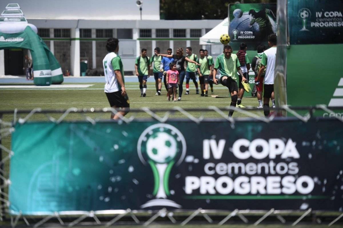 Inaugurada la IV Copa Cementos Progreso