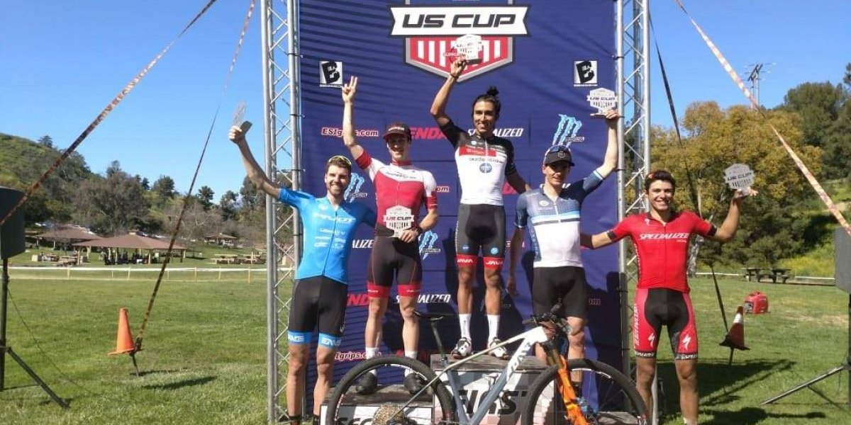 Ciclista Gerardo Ulloa consigue Oro histórico en la primera fecha del US Cup UCI