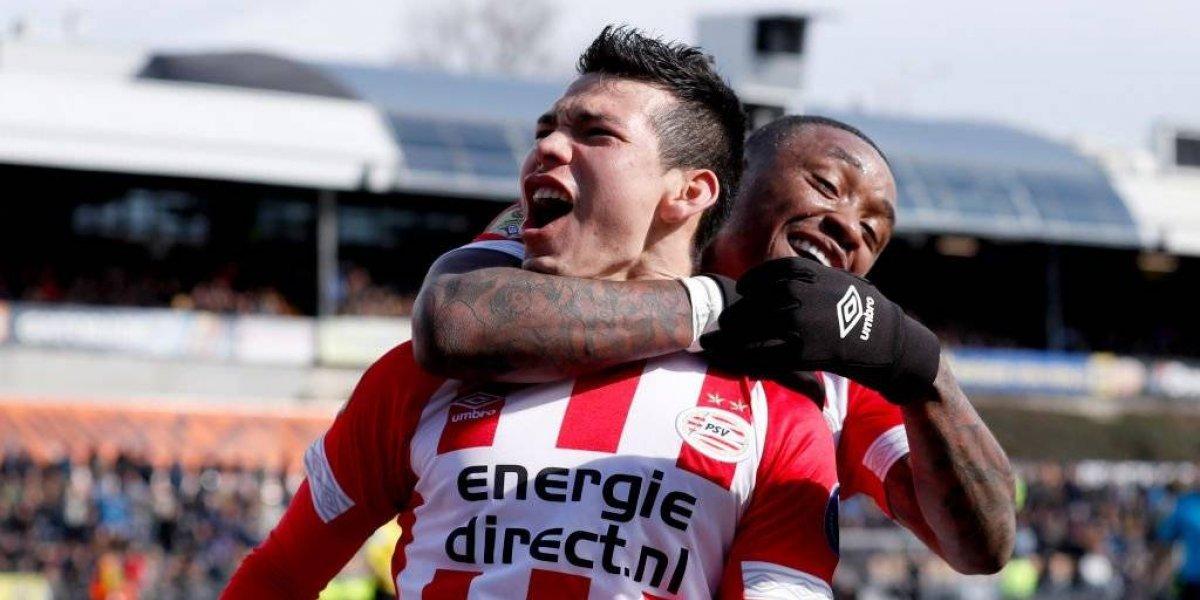 Chucky Lozano se reencuentra con el gol y da victoria al PSV