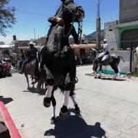 Desfile hípico en San José Pinula