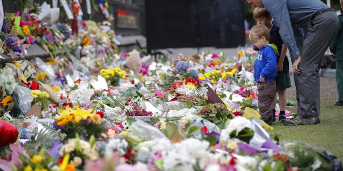 Dolientes rinden honores a víctimas de Nueva Zelanda