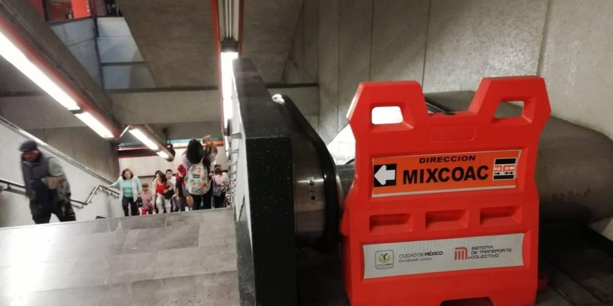 Metro derrocha mil millones en escaleras que no funcionan