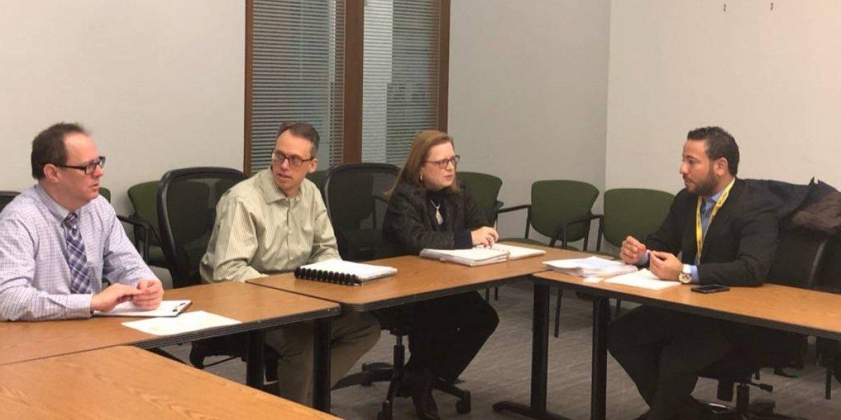 Instituto de Estadísticas se reúne con agencias federales
