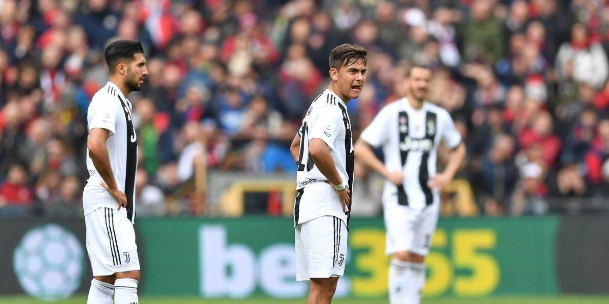 Sin Ronaldo, la Juve sufre primera derrota de la temporada en la Serie A