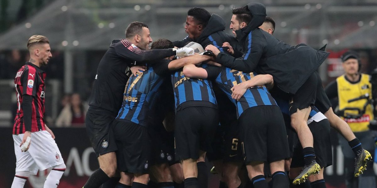 Derby della Madonina: A todo gol fue el clásico que el Inter obtuvo ante el Milan en el Calcio