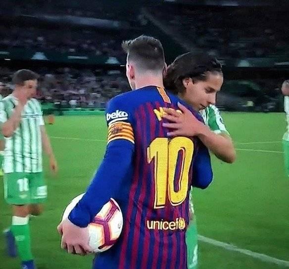 Lainez - Messi