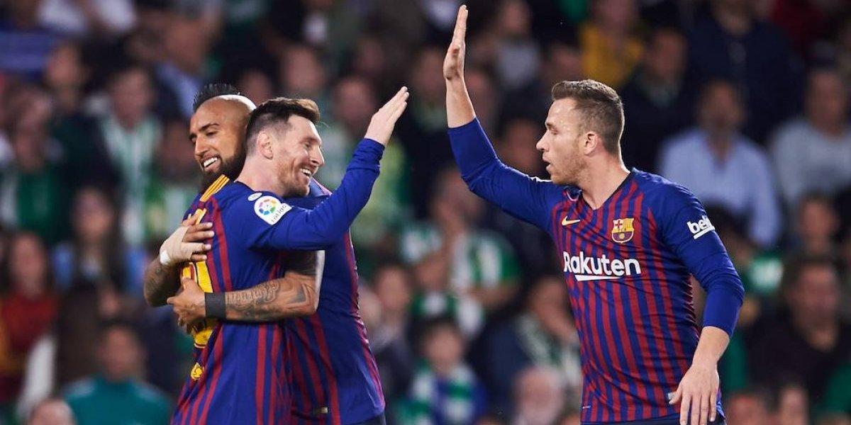 Messi se luce con golazos y hat-trick en el triunfo del Barcelona