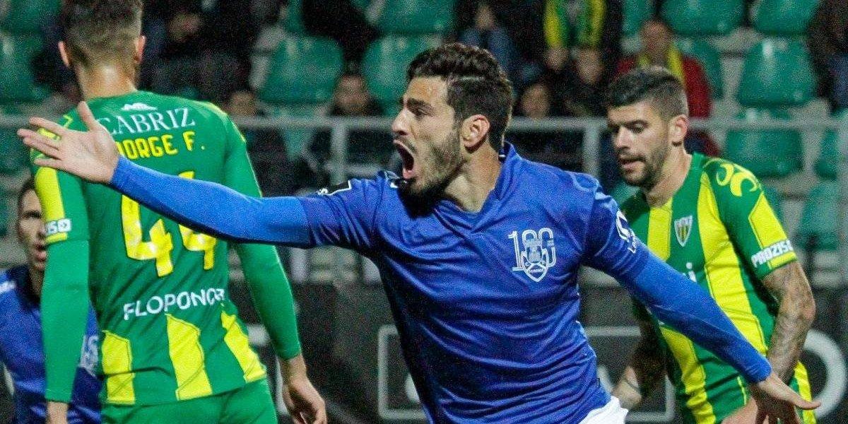 'Pollo' Briseño anota en empate del Feirense
