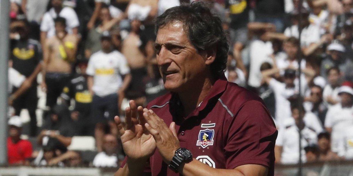 """Mario Salas se pone presión en Colo Colo: """"No podemos tener un traspié ante Huachipato"""""""