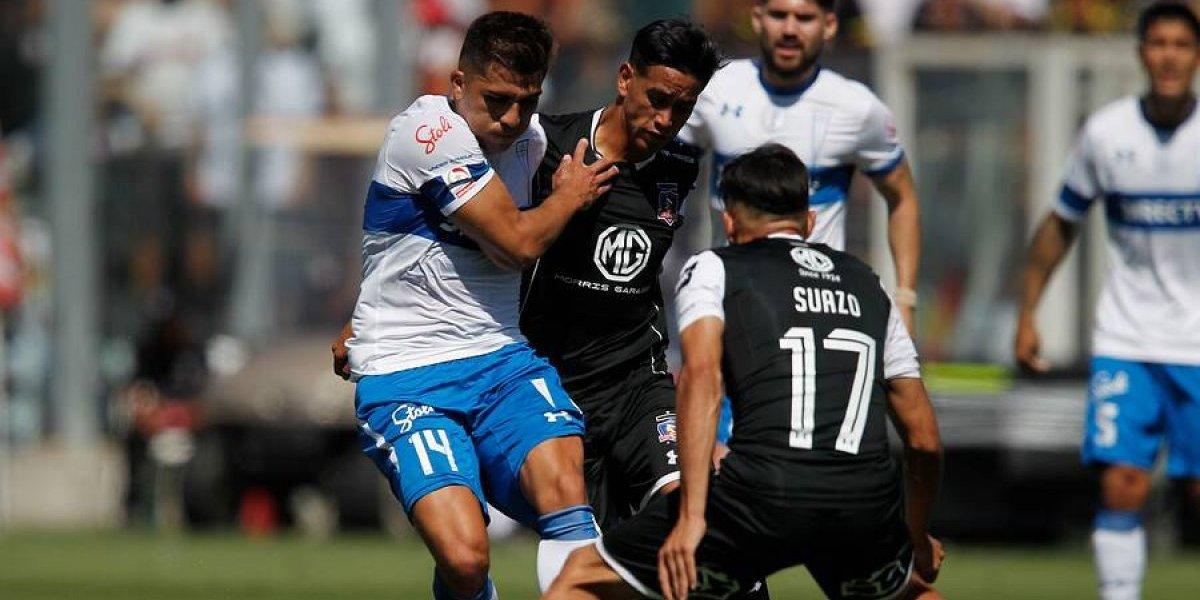 El juego vistoso de Pinares le ganó a los goles de Vilches en el duelo cruzado del Colo Colo-UC