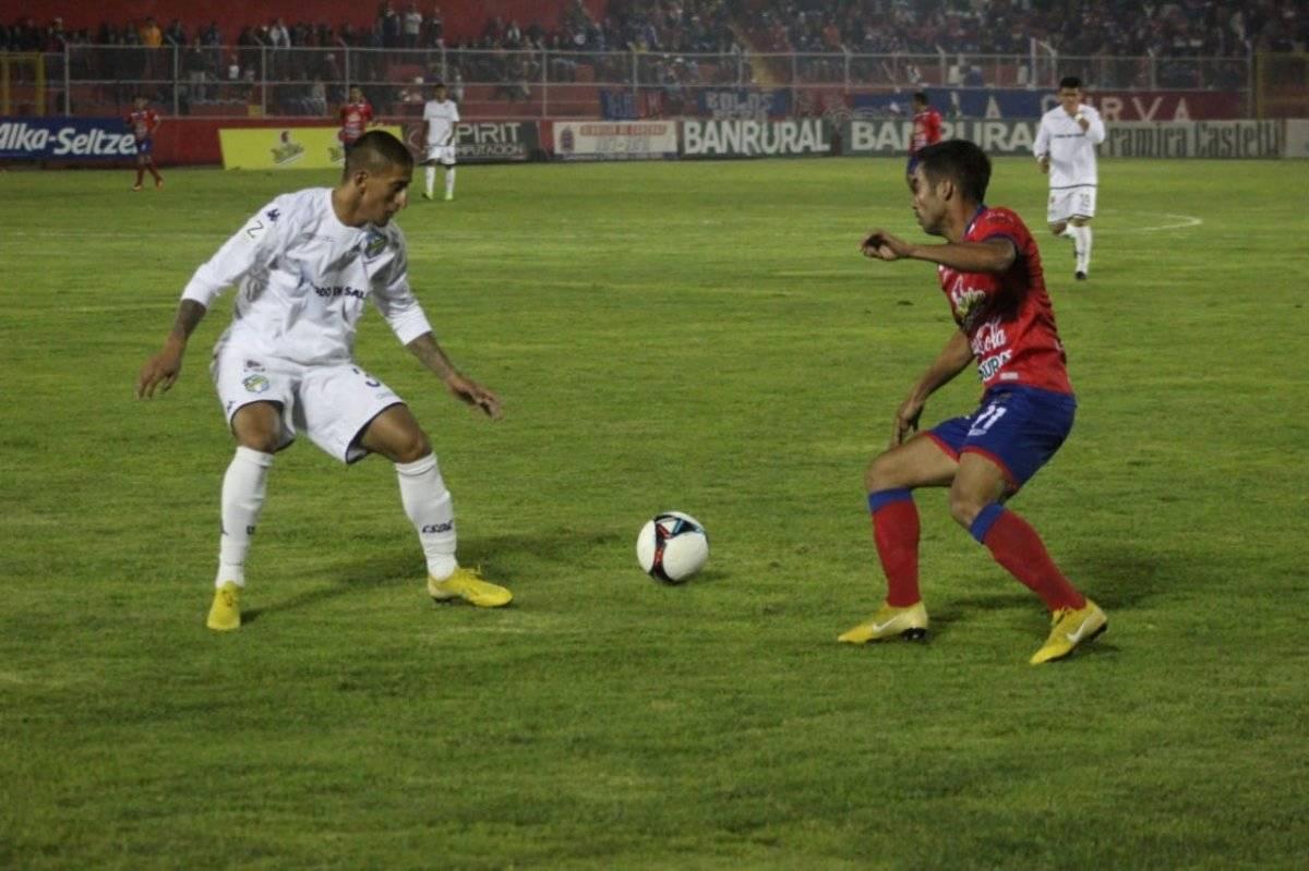 Resultado Xelajú MC Comunicaciones, Torneo Clausura 2019