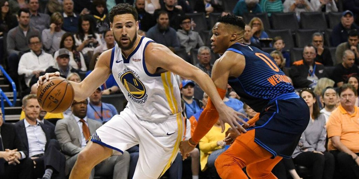 Golden State Warriors aplastó a domicilio a Oklahoma City Thunder