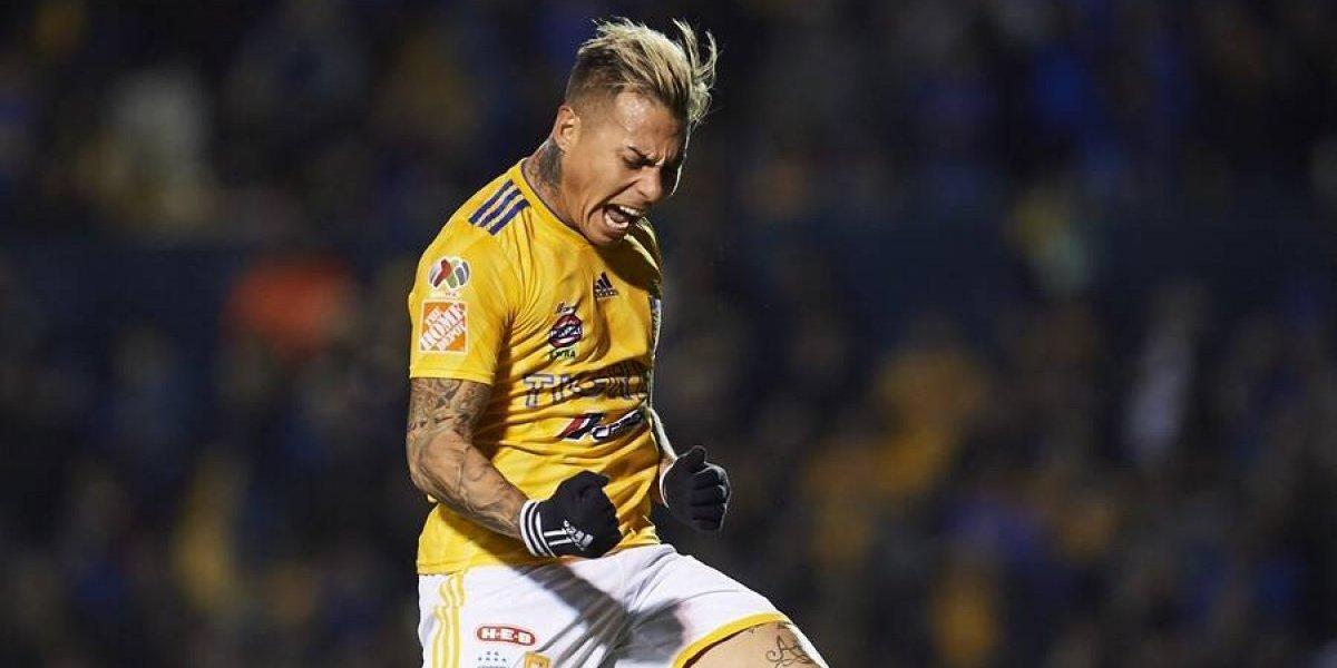 Eduardo Vargas selló la goleada de Tigres — Desahogo goleador