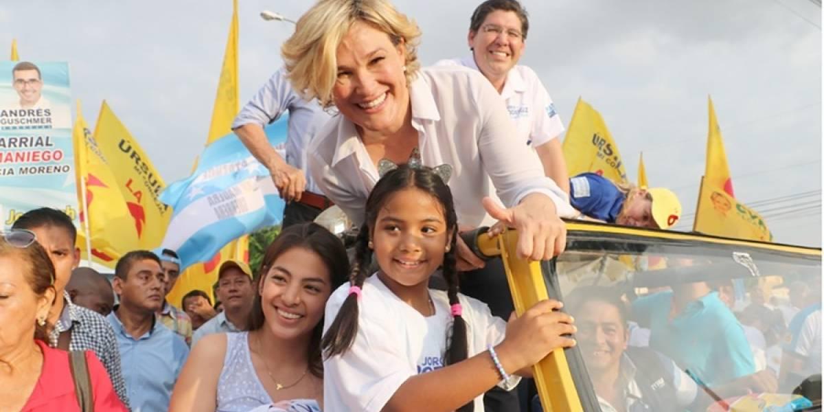 Cynthia Viteri asegura que seguirá la ruta del progreso y libertad