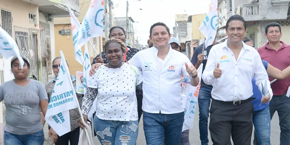 """Patricio Buendía: """"Guayaquil se gobierna contigo"""""""