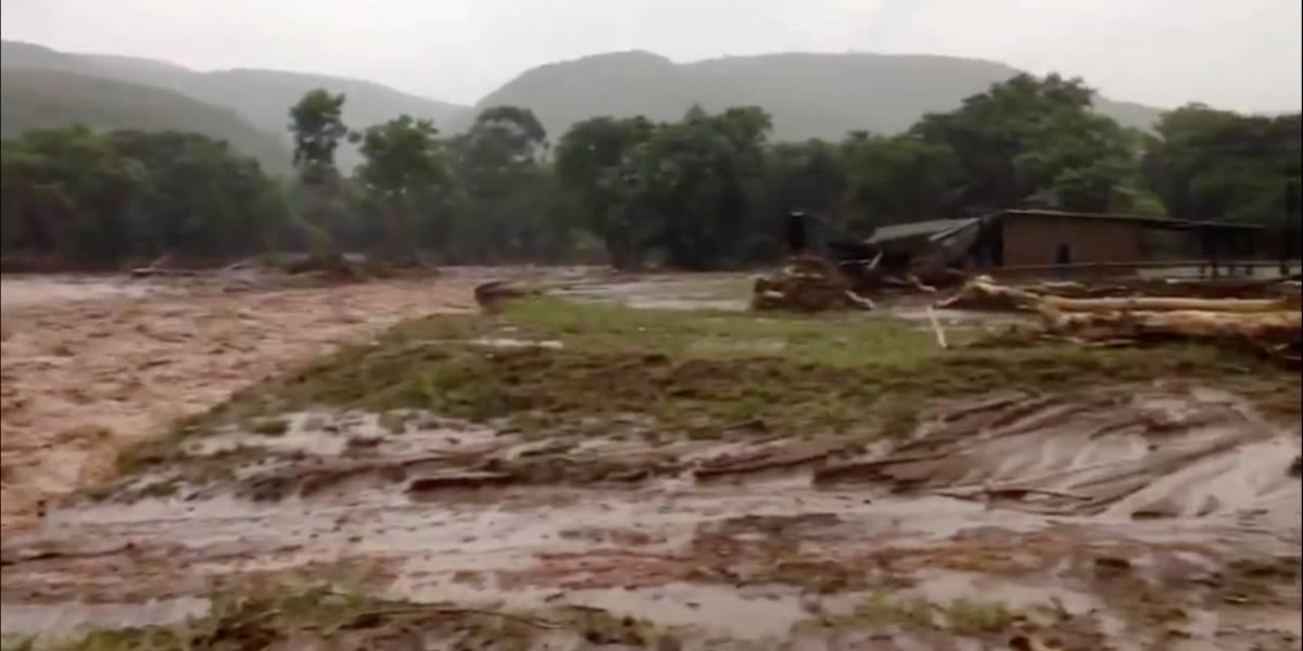 Ciclone destrói mais de 90% de cidade em Moçambique