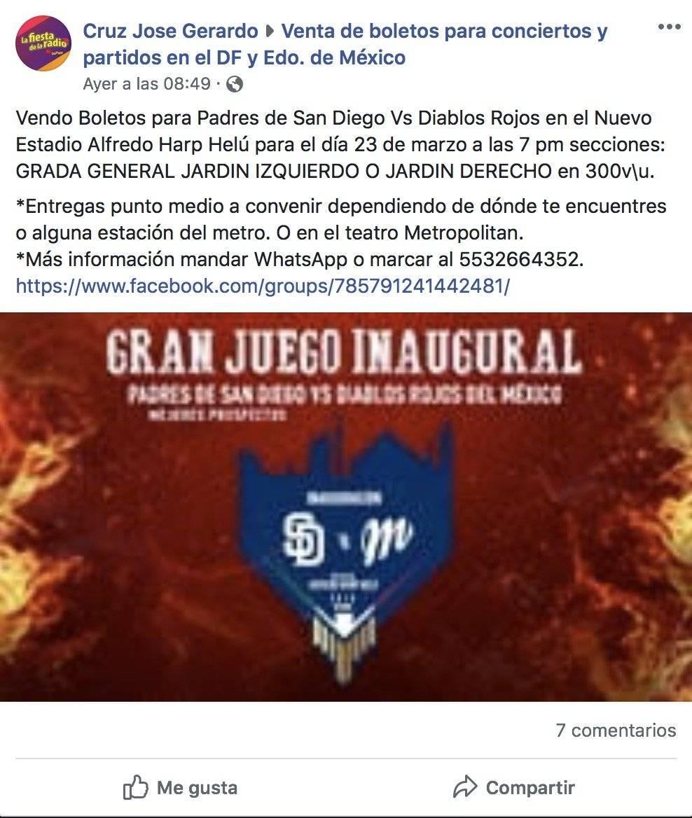 Agotados los boletos para inauguración de estadio de Diablos Rojos