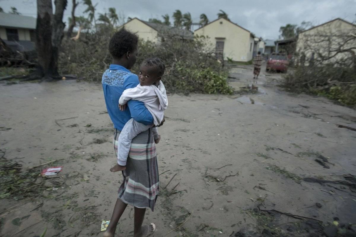 Los destrozos que provocó el paso de un ciclón en el sur de África Foto: AP