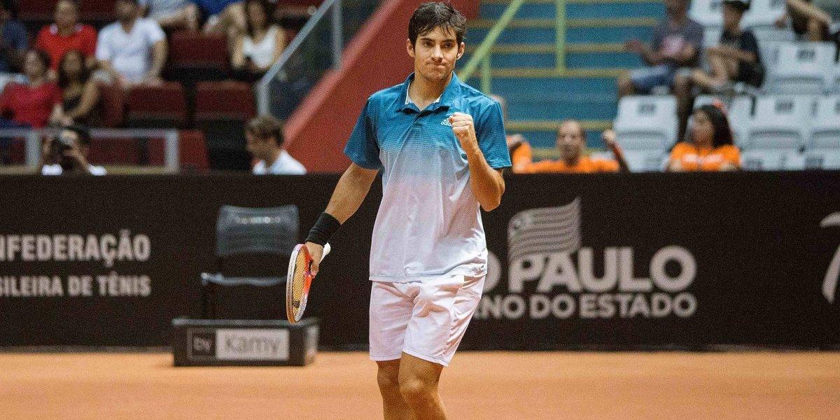 Christian Garín sigue creciendo en el ranking ATP y alcanzó su mejor ubicación sin siquiera jugar